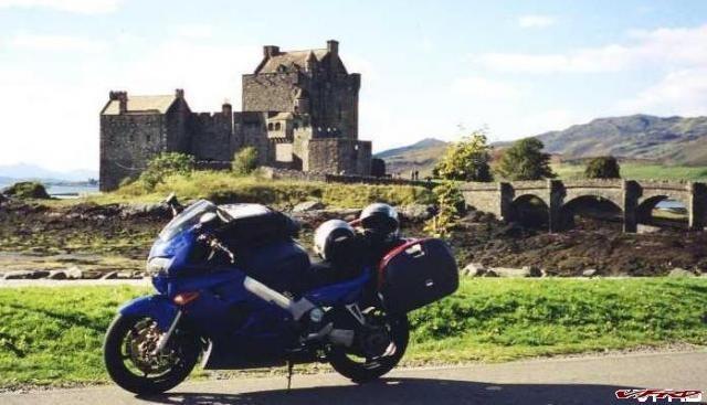 Eilean Dunon Castle, September 2002