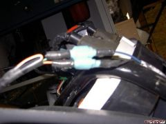 Aprilia signal lights only have two wires