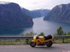 The Aurland Fiord, Sogn & Fjordane, Norway