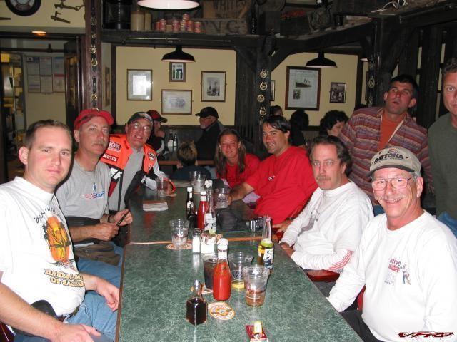 VFRD Table at Bullwhacker's