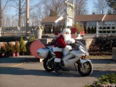Santa Traded in his sleigh