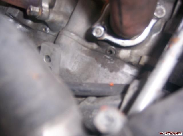 Exhaust leak from Cylinder head #2