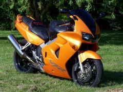 A beautiful orange VFR