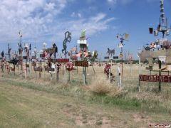 roadside on the plains
