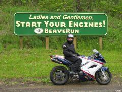 Beaverun Start Your Engines Sign 5 18 08