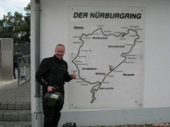 The prof I was there at Nurburgring! monday 16.6.08!