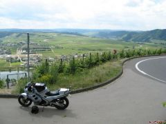 Mosel river wiew 17.6.08