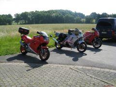 Redy to ride to Nurburgring monday 16.6.08