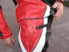 Pants Hip Scuffs