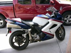 Stock VFR800 AS7