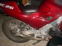 muffler removed, thinking of a  GP style exhaust now.