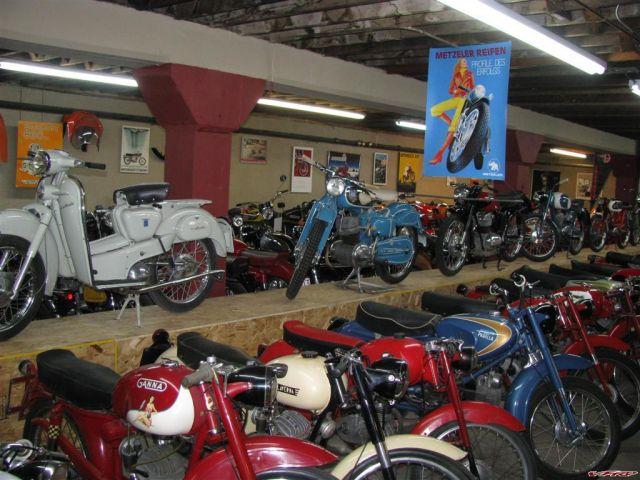 A Visit To Jim Dillard's Vintage Motos