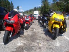 VFR Meet near Nelson, summer 2008