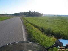 Ride toward Imatra