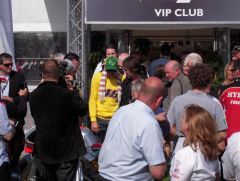 Rossi, About to Sign and Rev Our Bike!.JPG