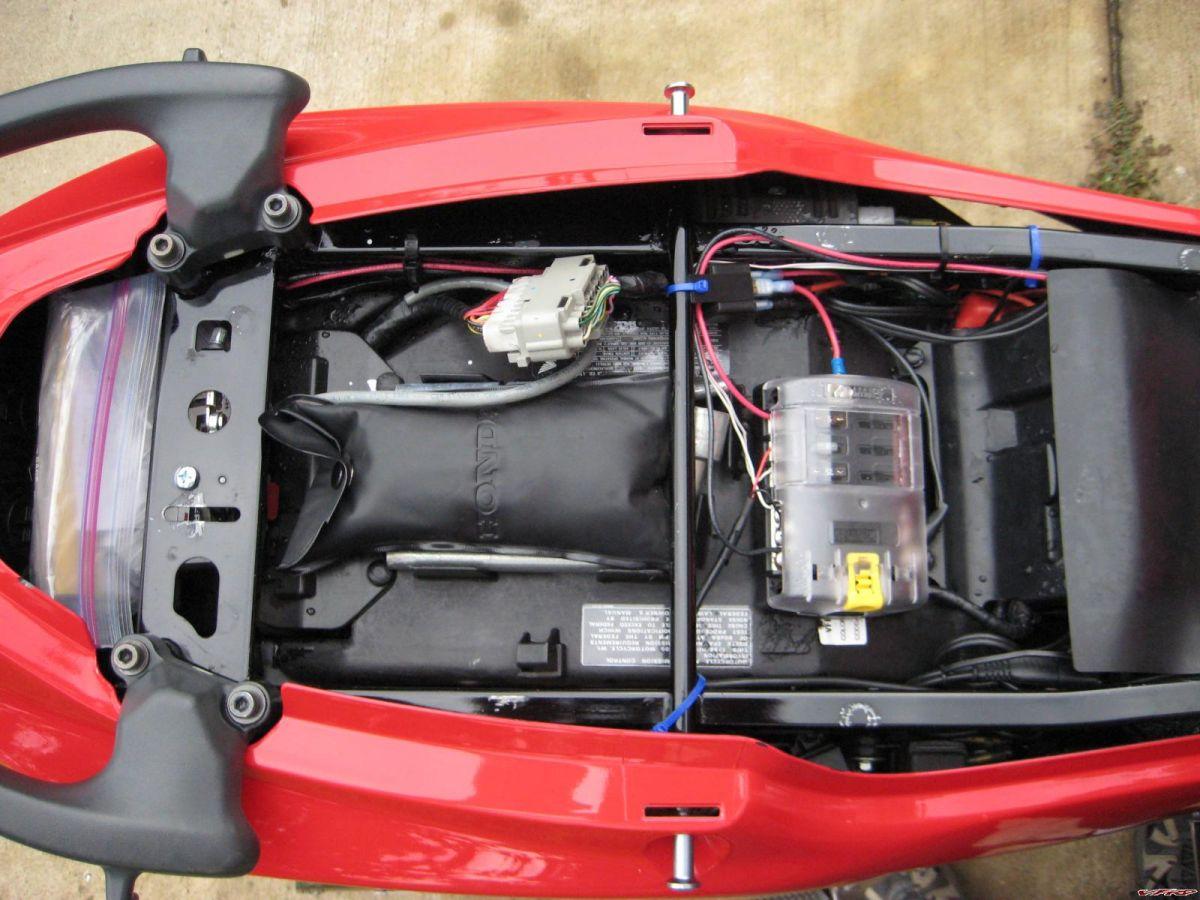 2002 honda rc51 wiring diagram 2002 yamaha yzf600r wiring CBR 600 F4i Tail Conversion 2006 Honda CBR 600 F4i