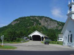 09 Covered Bridge and escarpment - Stark, NH.JPG