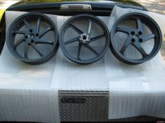 and the rest of the powder coated wheels