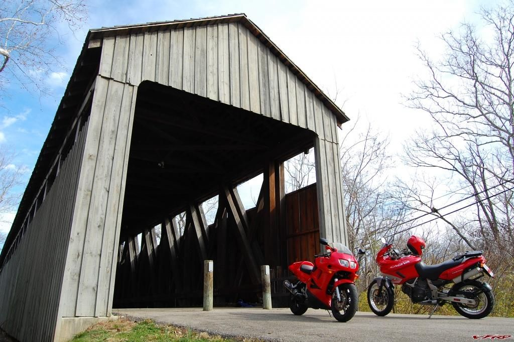 Covered Bridge Near Oxford, IN