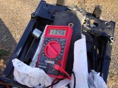Voltage at idle after VFRness