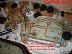 VFR750 4th Gen PCB earth fault