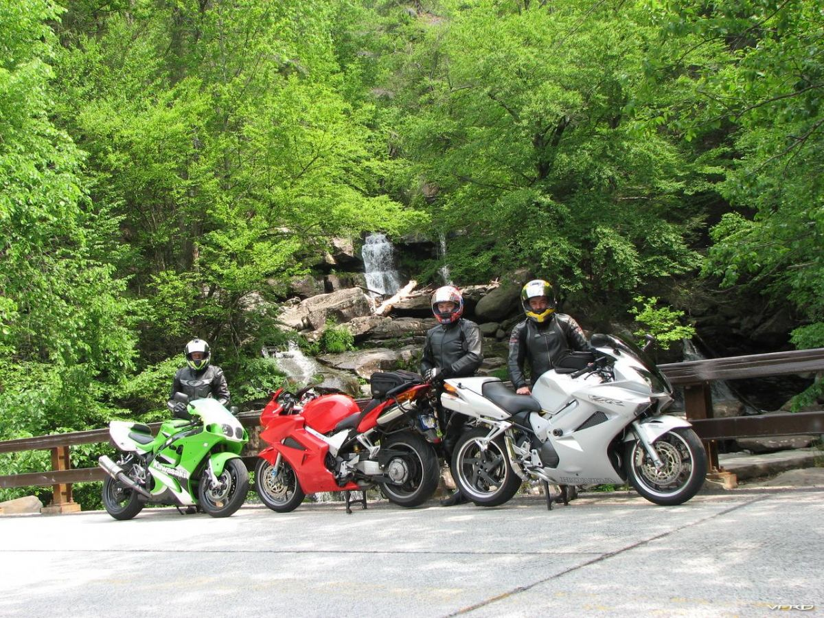 Tumbles, Me, and Poncho at the base of the Kaaterskill Falls