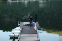 Deep lake happiness on the dock.jpg