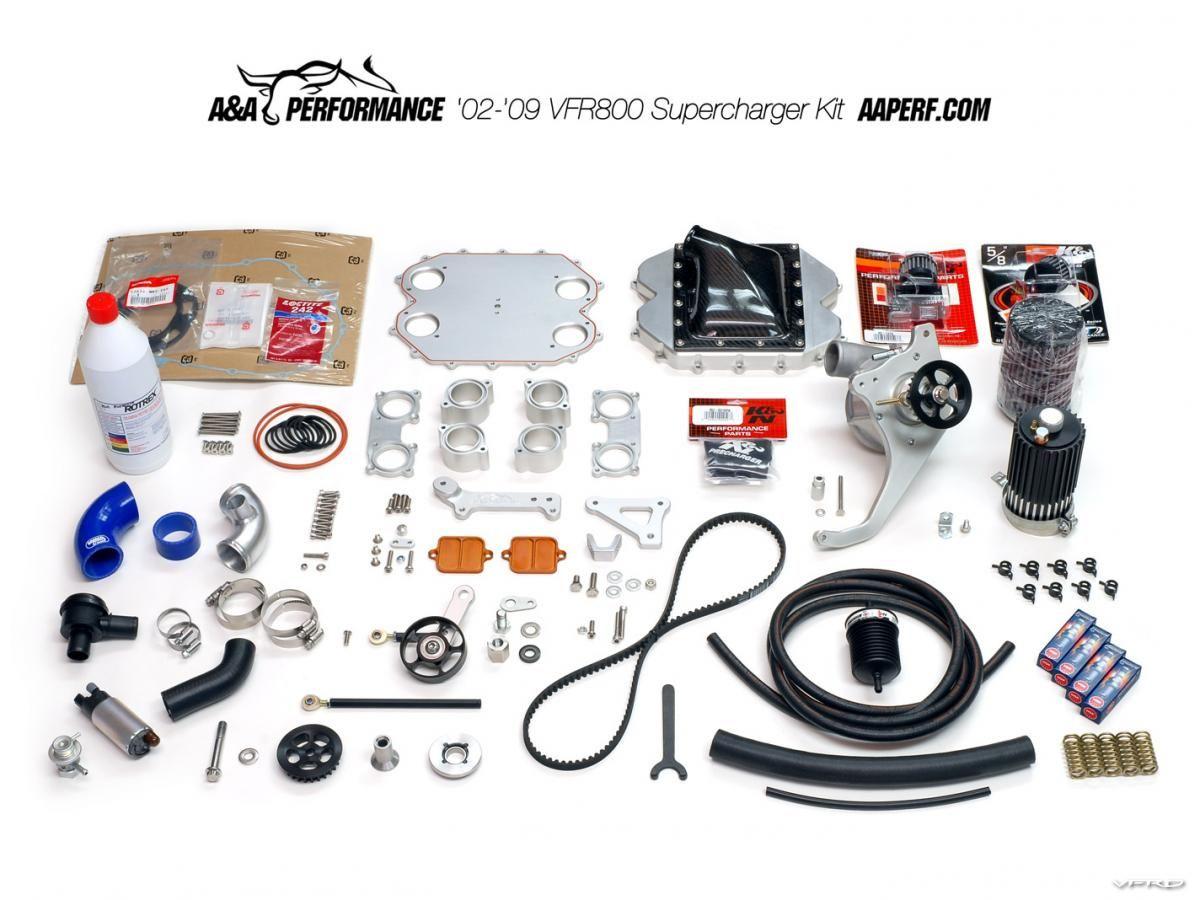 6th-gen Supercharger Kit