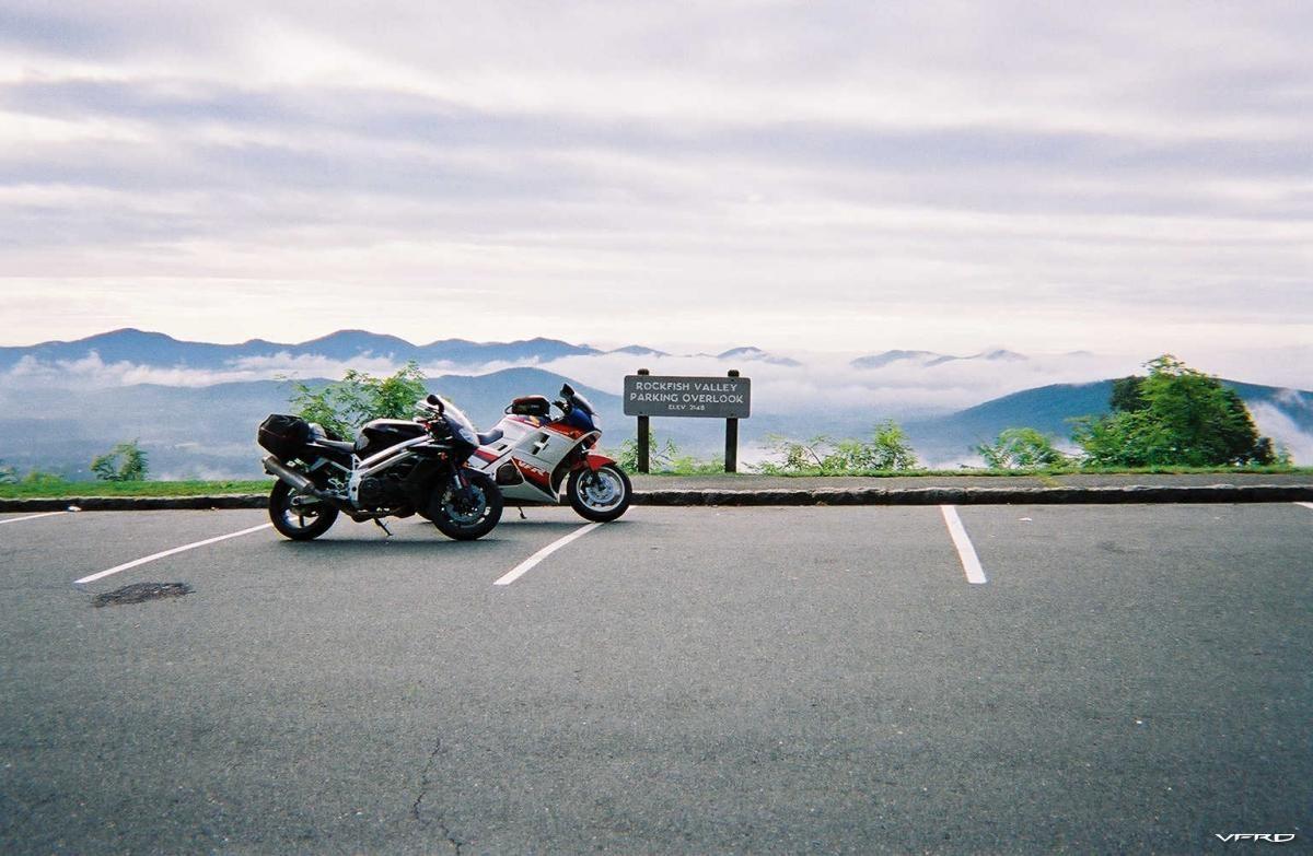 The Blue Ridge Parkway, many years ago...(2002)