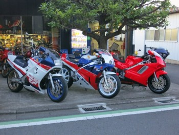 Three 750cc