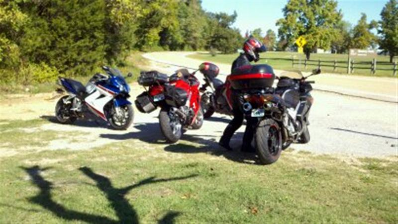 The VFRD crew in the Ozarks