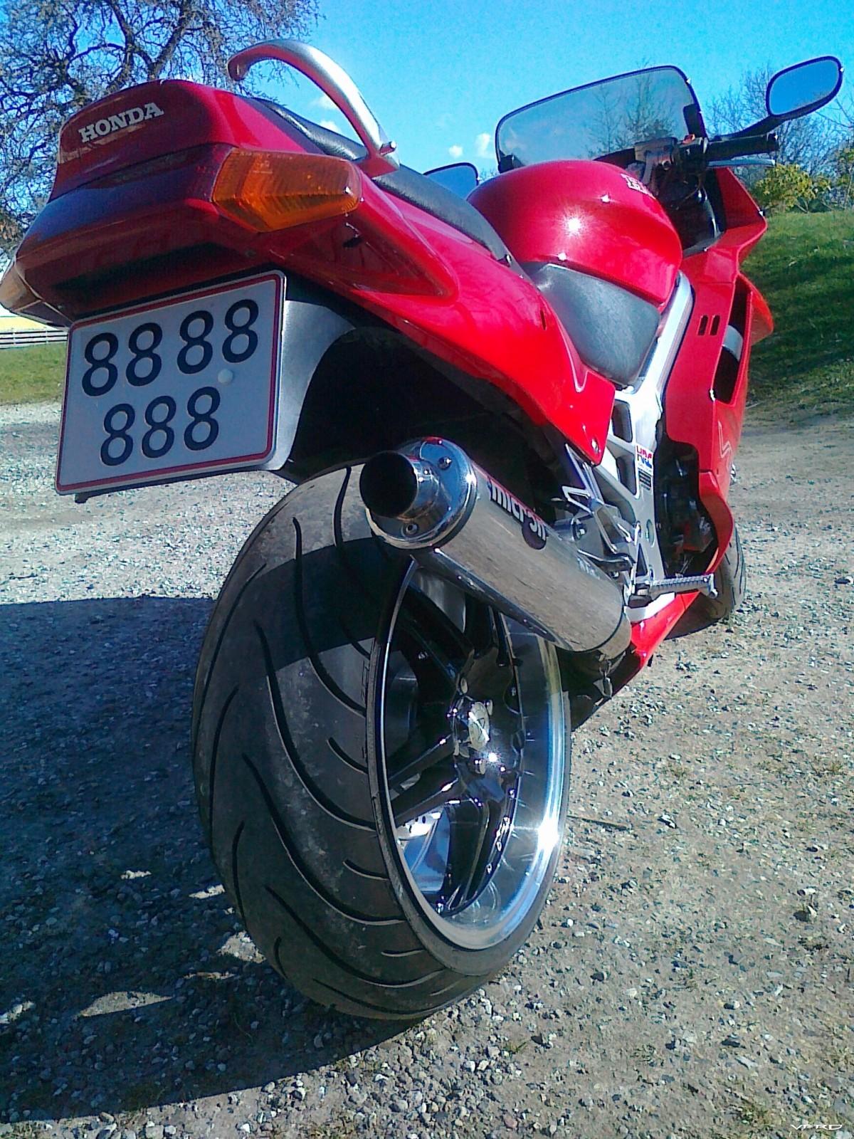 my new rear