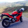 Red leaves, red VFR