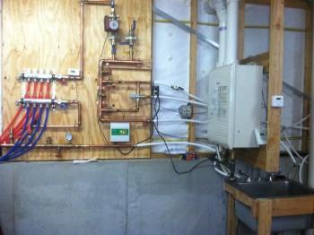 Radiant heat in detached garage