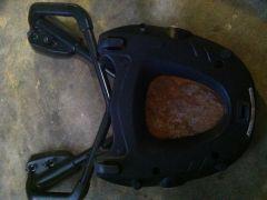 Givi plate On OEM mount