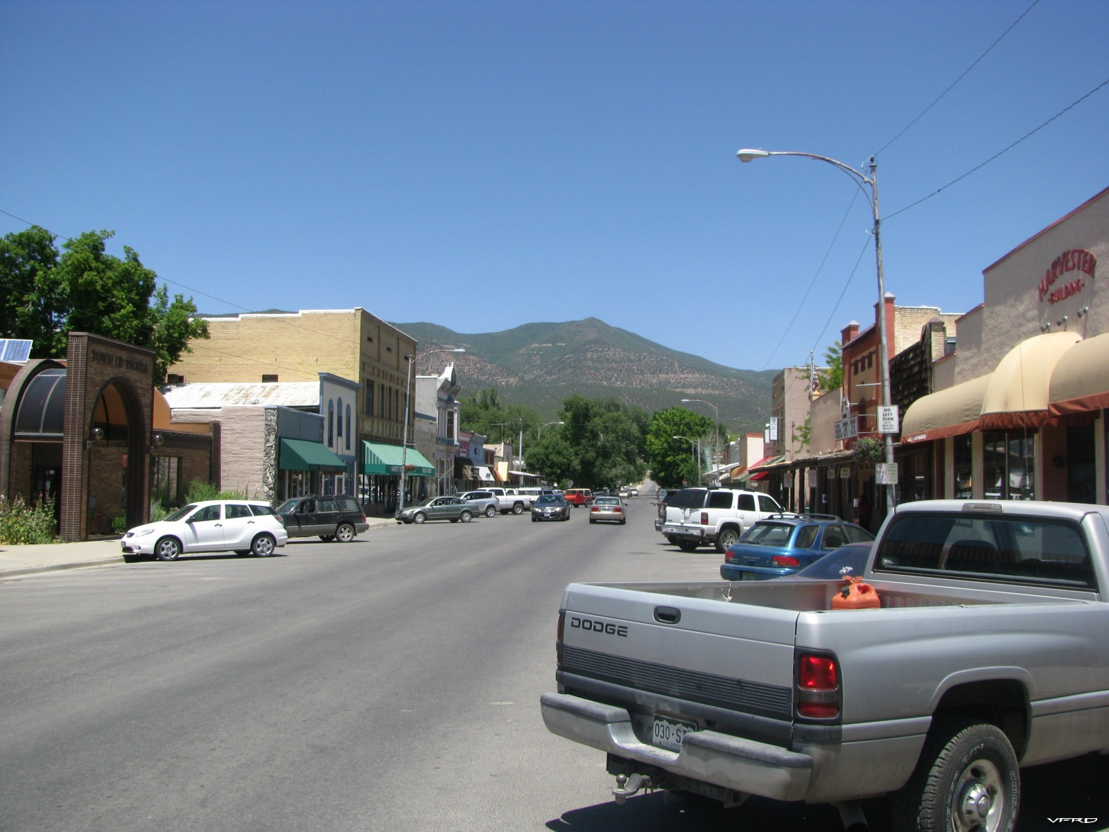 Main Street — in Paonia, Colorado