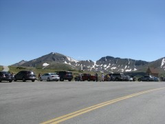 At Independence Pass.
