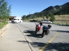 Wilkerson Pass rest stop