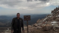 Here I am at the top