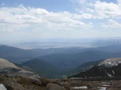 Mt Evans up the hwy 285 coridor to Kenosha Pass