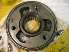RC36 Starter clutch  cracked 1