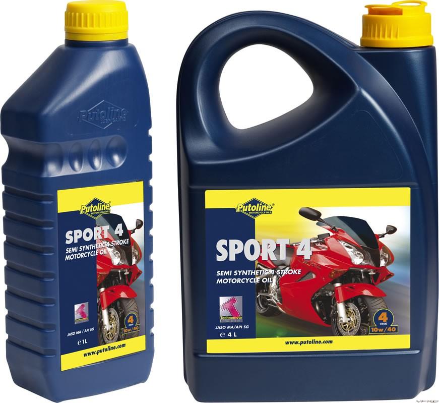 Putoline sport 4 motorcycle oil