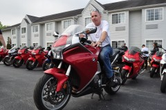 Mike on Miguel's 7th Gen VFR May 2012 TMAC