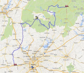 Thurs ride To Franklin