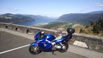 VFR at Vista House on Columbia Gorge