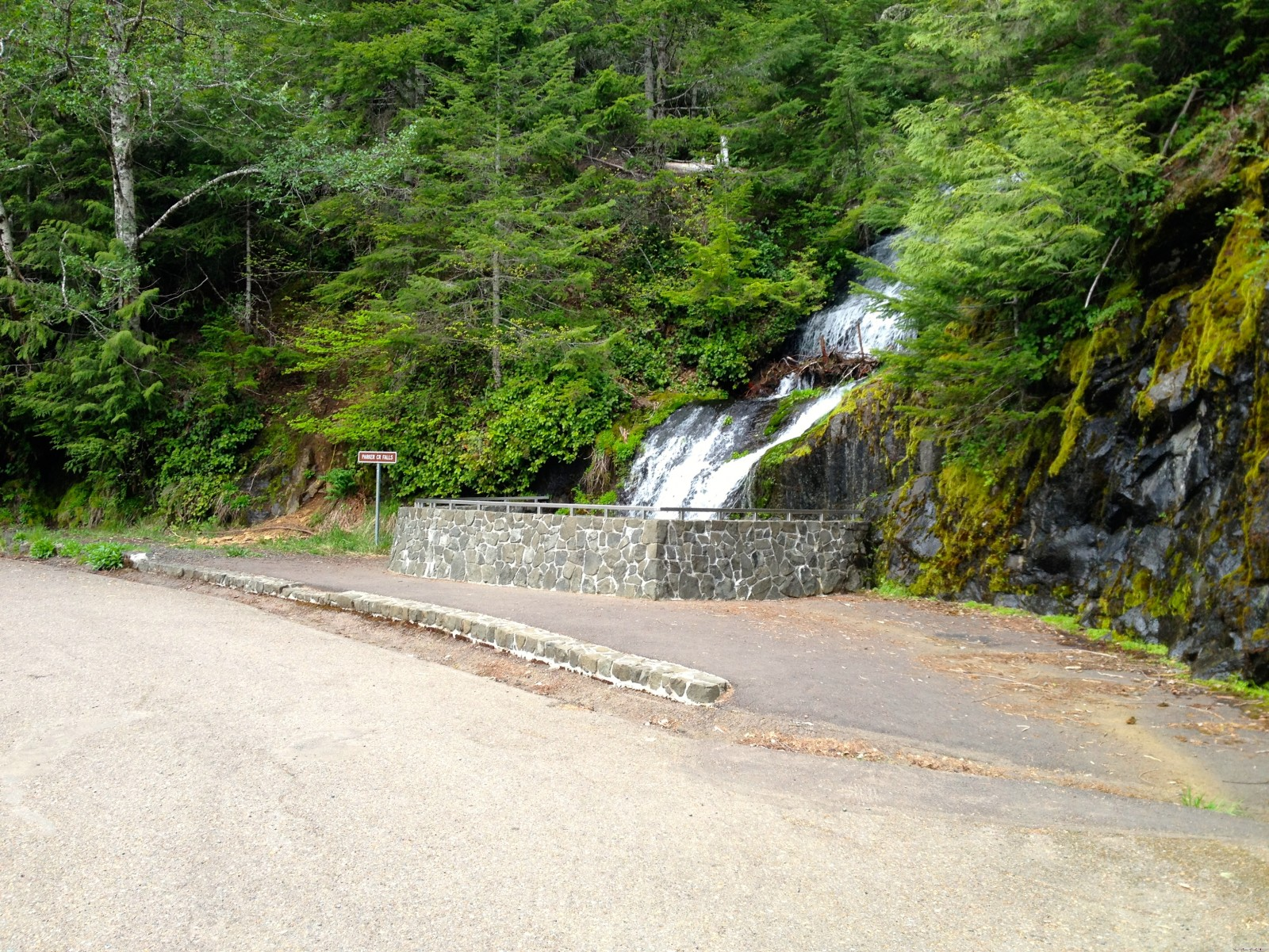 Parker Creek Falls