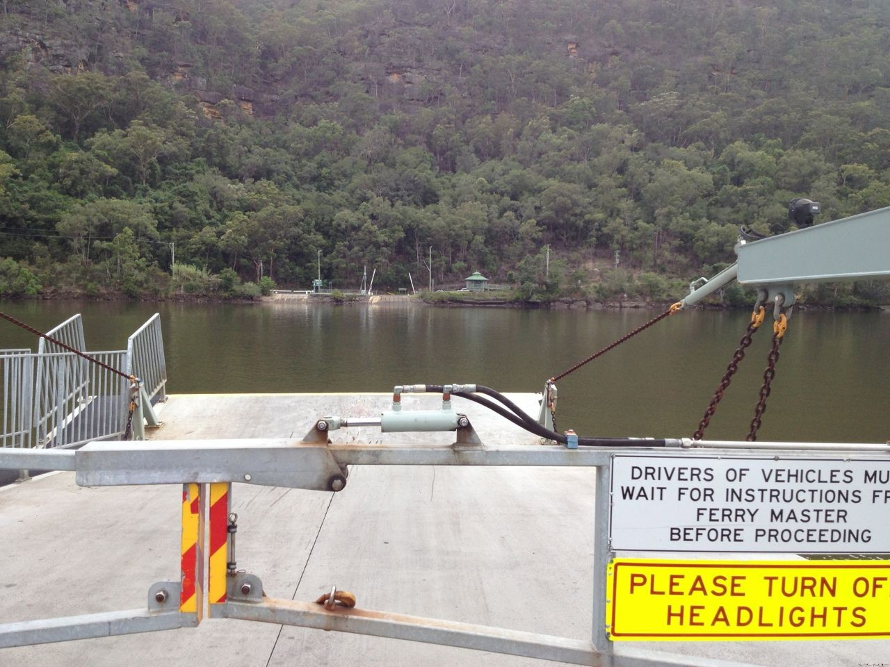 Ferry at Wiseman's Ferry