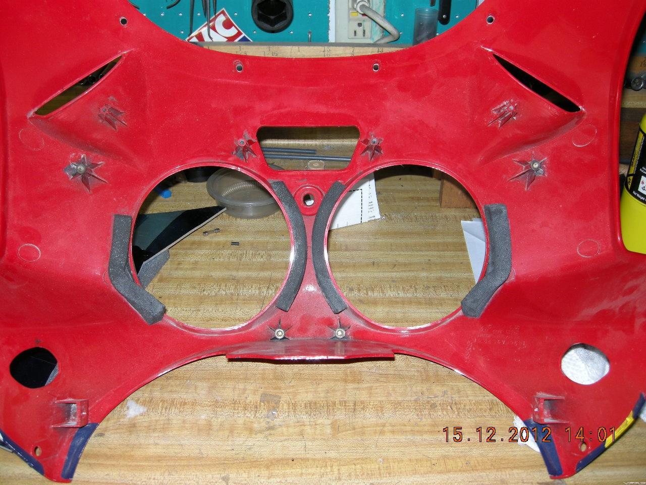 RC45 Headlight Foam