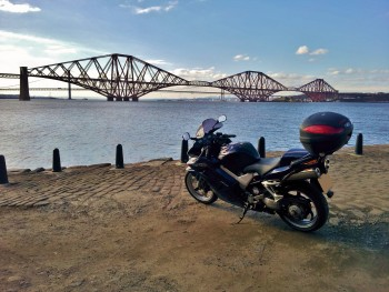 VFR800 and the Forth Bridge
