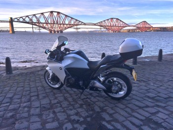 VFR1200 and the Forth Bridge